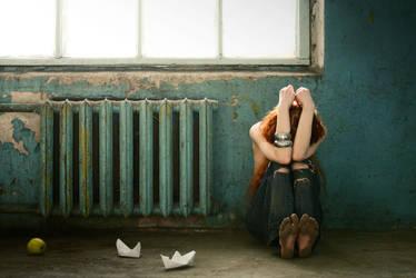 Hide in a corner by YaraKlaproos