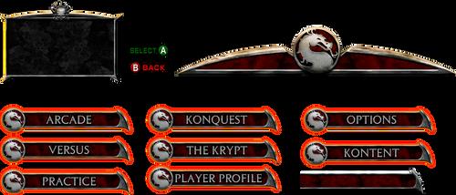 Mortal Kombat Deadly Alliance - Menu by OIlusionista