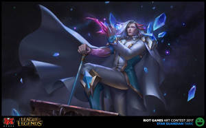 I RIOT ART CONTEST 2017 I Star Guardian Taric by haonguyenly