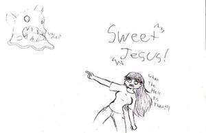 Sweet Jeebus by AurePeri