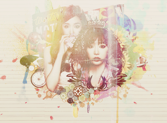 Tiffany Wallpaper by halenaswiftie