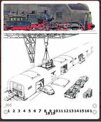 Breitspurbahn loading/unloading process. by FutureWGworker