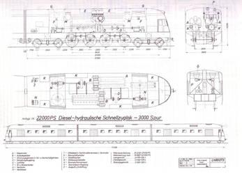 Breitspurbahn diesel-hydraulic locomotive. by FutureWGworker
