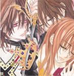 Queen and king by Shiroichi-chan