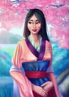 Mulan (COLOR) by Asaminert