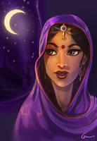 Indian Girl by Gwennys
