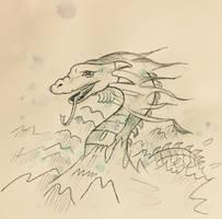Sea Serpent  by ChuckyAndy