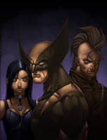 Wolverine Family commission by redeve