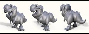 Little Rex Sculpt by Dvolution