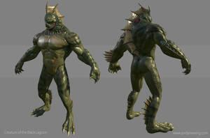 Creature from the Black Lagoon - Turn Around by Dvolution