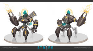 Crabtank Vex - Concept by Dvolution