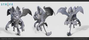 Adult Fitz - Strife Pet - Sculpt by Dvolution