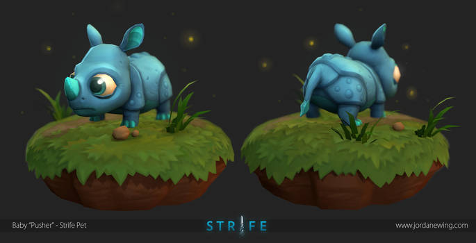 Baby 'Pusher' - Strife Pet by Dvolution