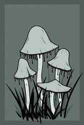 Inky Cap by Quiet-Imps
