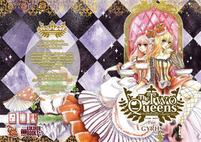 The Two Queens .:Cover with text:. by GYRHS