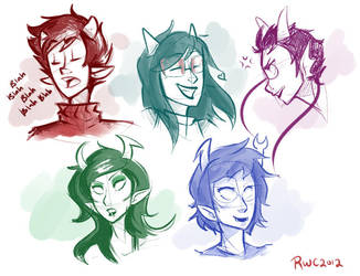 Pre-Scratch Sketches by reb-chan