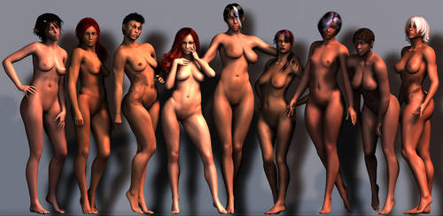 Genesis Characters 1 by Armoun