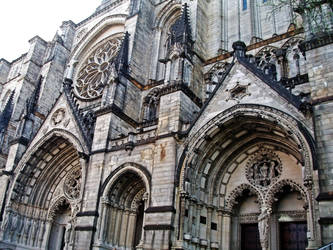 St. John's Cathedral in NYC by Kellymh5260