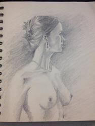 Sketch (pencil) by pichardo1334