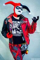 Punk Harley Quinn by Lady-Ha-ha