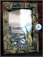 Steampunk Pictureframe by Indirie