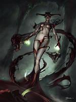 Dark Summoner by pindurski