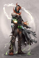 Corrupted Mage by pindurski