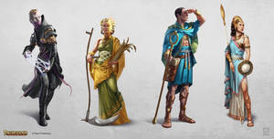 Paizo: Deities of Azlant by pindurski