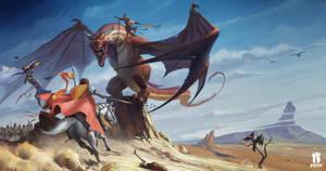 Pathfinder RPG: War For The Crown 3 halfpage by pindurski