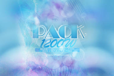 Pack +1200 watchers. by SparklyStorm