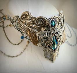 egyptian collar by JuleeMClark