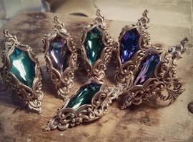 fantasy rings by JuleeMClark