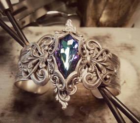 Lady Nebula Cuff by JuleeMClark