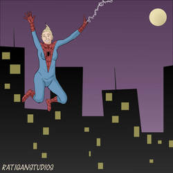 SpiderGirl by Joseph-Ratigan