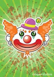 Clown Poster by Joseph-Ratigan