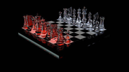 Chess Set by williamdickeson