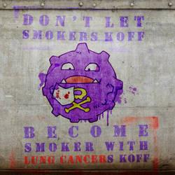 Pokemon Anti-Smoking Campaign by williamdickeson