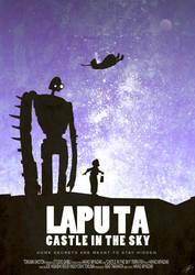 LAPUTA - 'Castle In The Sky' by williamdickeson