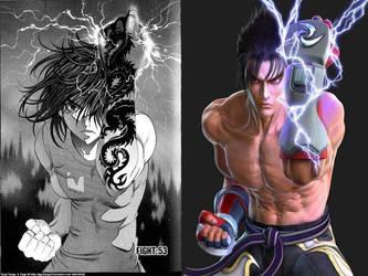 Tenjou Tenge VS Tekken by RFyle119