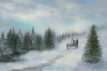 Long Winter's Journey by lisagade