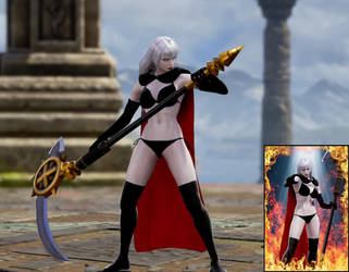 Lady Death - SoulCalibur VI - 1 by Drazhar24