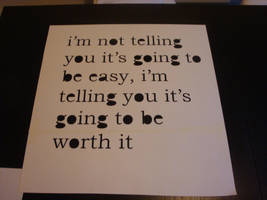 Typography Stencil - Inspiration Quote by RAMART79