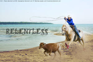 Calf Roping by RicochetRosie