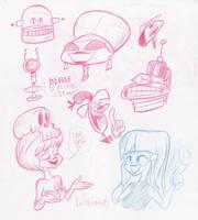 Sketch Bunch 21 by luismario