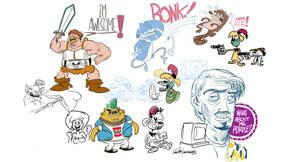 Sketch Bunch 24 by luismario