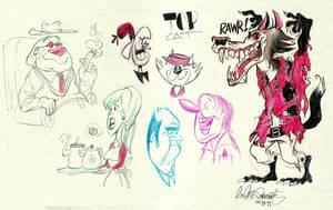 Sketch Bunch 34 by luismario