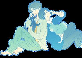[Render #14] Eren and Levi by sandrareina