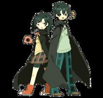 [Render #98] Takane and Haruka by sandrareina