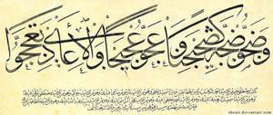 calligrapher Mustafa Halim 6 by ACalligraphy