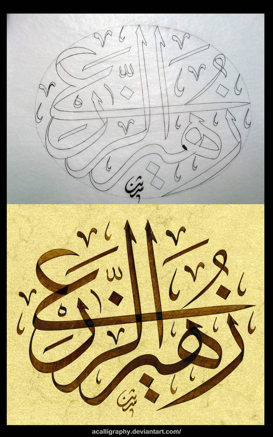 Name by Shereen by ACalligraphy